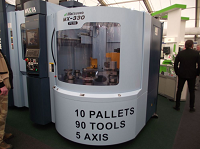 Matsuura and Edgecam launch a lights out 5-Axis machine