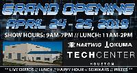 EDGECAM at the Opening of the Hartwig—Okuma Tech Center in Texas on April 24-25