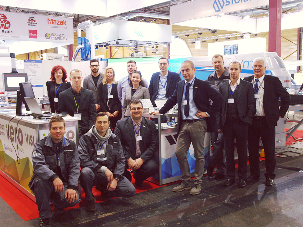 New version of CAD/CAM solution for sheet metal fabrication Radan 2018 R1 has been premiered to visitors of the biggest industrial event of the Baltics, Tech Industry 2017. It just happened between November 30th and December 2nd in Riga, Kipsala international exhibition hall.